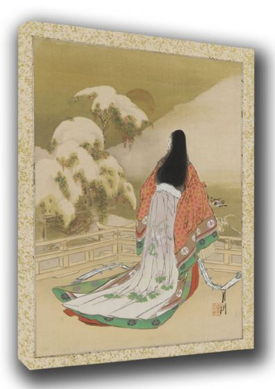 Gekko, Ogata: Woman in Daily Life. Japanese Fine Art Canvas. Sizes: A3/A2/A1 (003208)